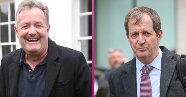 Piers Morgan has shared his views on replacement Alastair Campbell