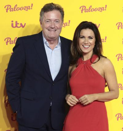 Piers Morgan and former co-host Susanna Reid