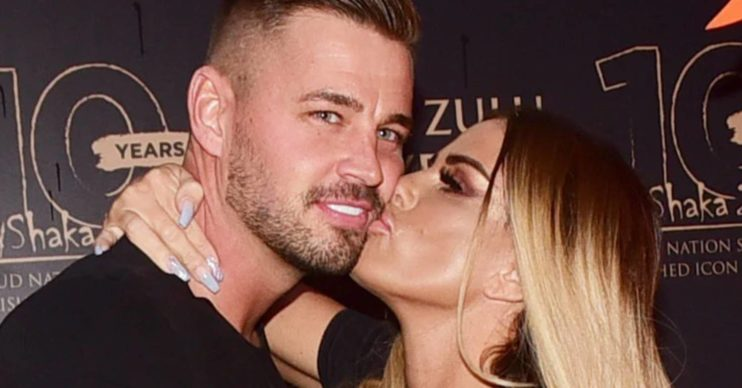 Carl Woods and Katie Price are getting married