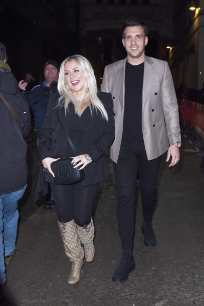 Sheridan Smith steps out with Jamie Horn