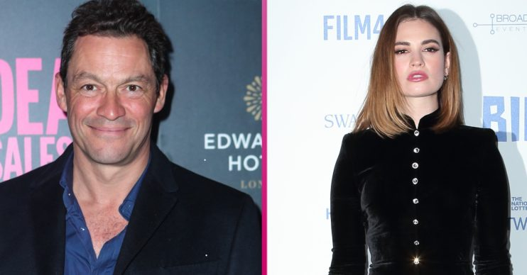 The Pursuit of Love stars Dominic West and Lily James caused scandal last year