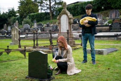 Tragedy strikes in Three Families, a moving drama on BBC One (Credit: BBC One)