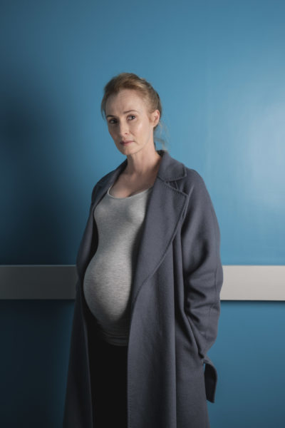 Genevieve O'Reilly as Rosie in Three Families (Credit: BBC One)