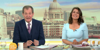 Alastair Campbell on GMB annoyed viewers with his habit
