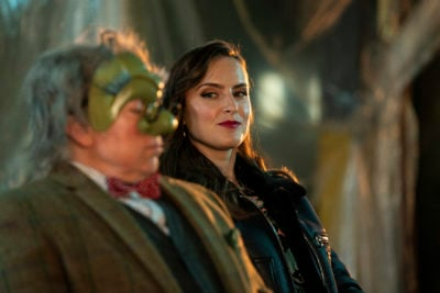 Steve Pemberton as The Doctor and Rosa Robson as Hortensia in Inside No 9 (Credit: BBC Two)