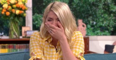 Holly Willoughby was in hysterics