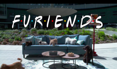 THIS MORNING SPOOFS FAMOUS FRIENDS OPENING TITLES WITH CUTE DOGS FOR MENTAL HEALTH AWARENESS WEEK
