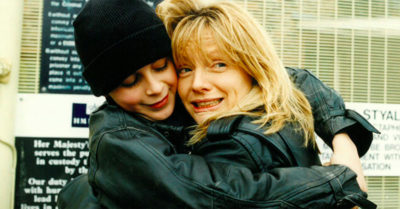 tricia armstrong with son