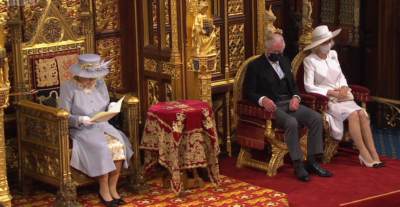 Prince Charles at state opening