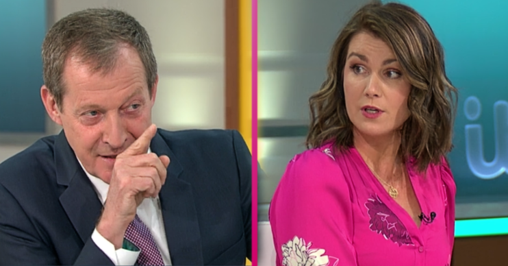 Susanna Reid and Alastair Campbell clash on GMB