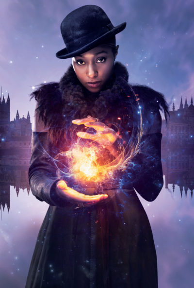 The Nevers stars actress Rochelle Neil as Annie Carbey (Credit: Sky Atlantic)