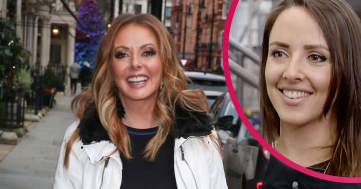Carol Vorderman and daughter Katie
