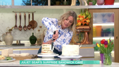 Sandwich cake on This Morning