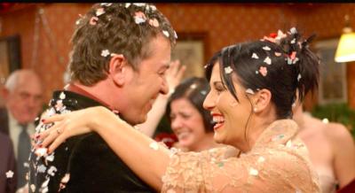 Kat and Alfie wedding
