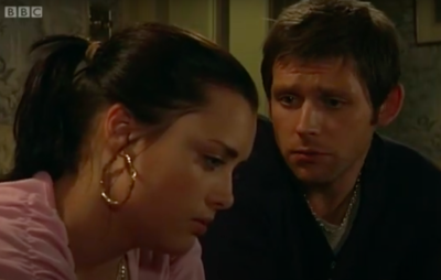 Tony and Whitney Dean from EastEnders