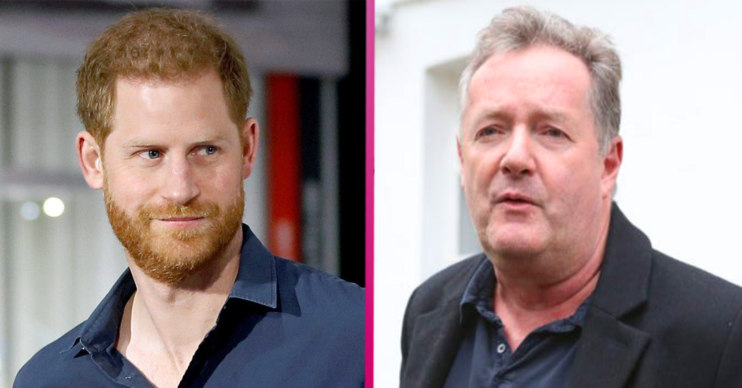 prince harry piers Morgan