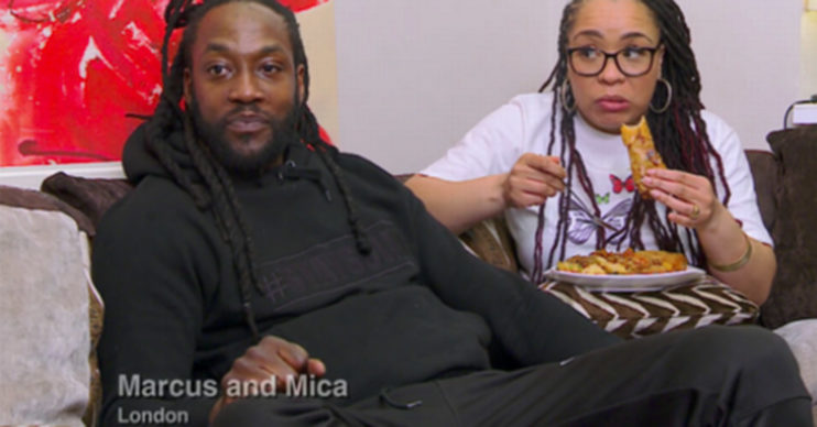 Marcus and Mica on Gogglebox