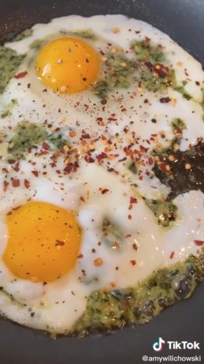 breakfast eggs recipe