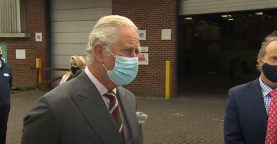 Prince Charles steps out
