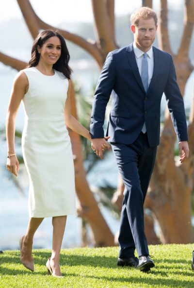 Meghan Markle and Prince Harry in Australia