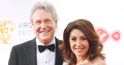 Jane McDonald and husband