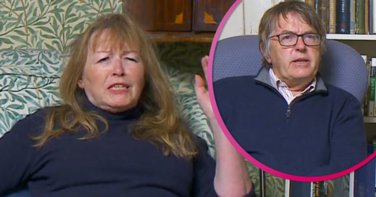 Gogglebox star Mary tells off Giles for swearing
