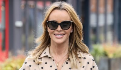 amanda holden wows in backless jumpsuit