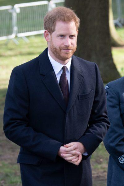 Prince Harry on visit to Birmingham