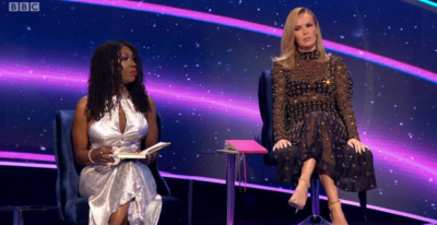 Amanda Holden stuns in mesh dress on I Can See Your Voice