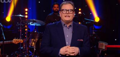 Alan Carr makes joke about Amanda Holden on Epic Gameshow