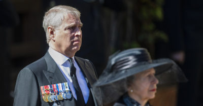 Prince Andrew 2021