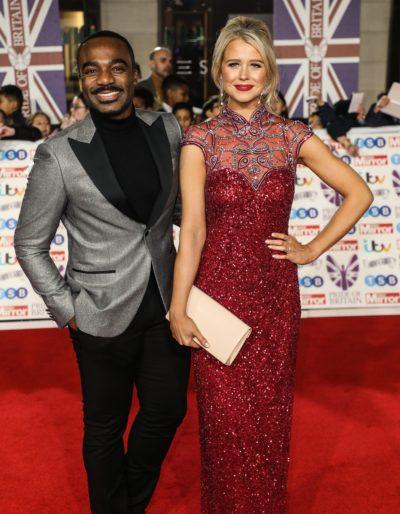 Ore Oduba and wife Portia at the Pride of Britain awards