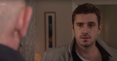 Oliver Farnworth in Coronation Street as Andy Carver