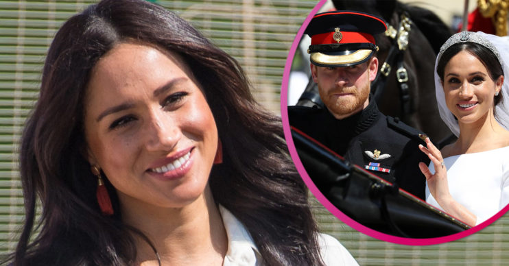 Prince Harry and Meghan Markle celebrate third wedding anniversary