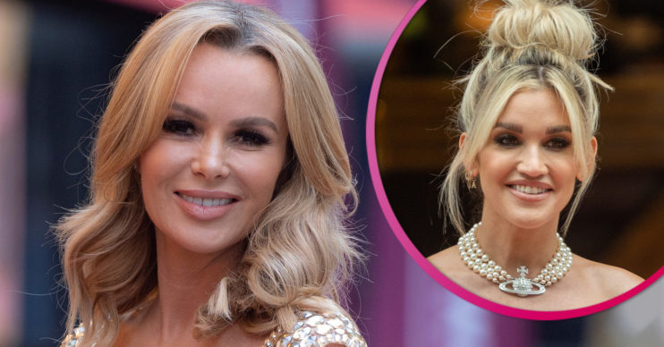 Amanda Holden stuns Instagram fans with pink gown alongside Ashley roberts