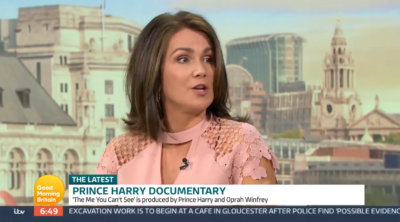 Susanna Reid criticises Prince Harry on GMB