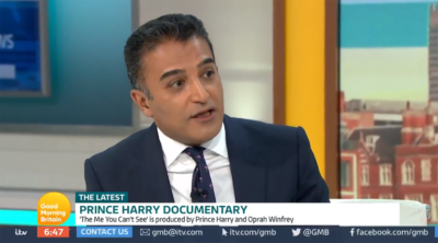 Adil Ray shares thoughts on Prince Harry on GMB