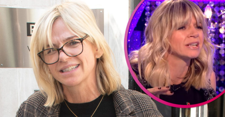 Strictly It Takes Two Zoe Ball quits show