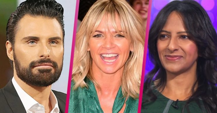 Who will replace Zoe Ball on Strictly It Takes Two