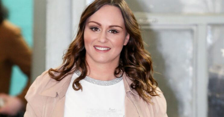 Chanelle Hayes talks about weight loss