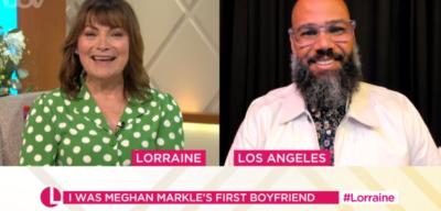 Lorraine Kelly interviews Meghan Markle's childhood boyfriend