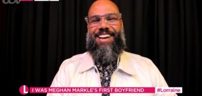 Meghan Markle's first boyfriend appears on Lorraine