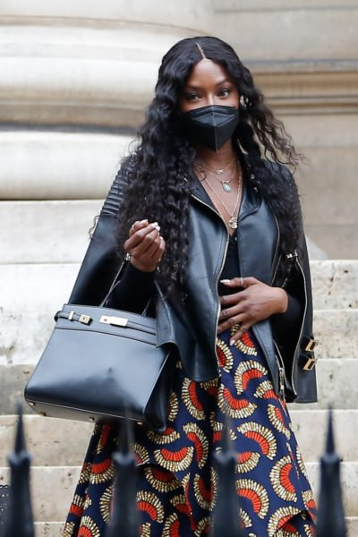Naomi campbell with baby bump?