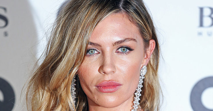 Abbey Clancy wows in mini-dress