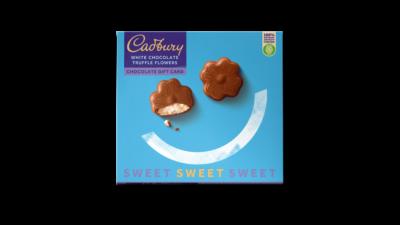cadbury greetings card