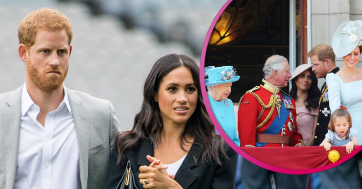 Prince Harry and Meghan 'snubbed' by royals on anniversary