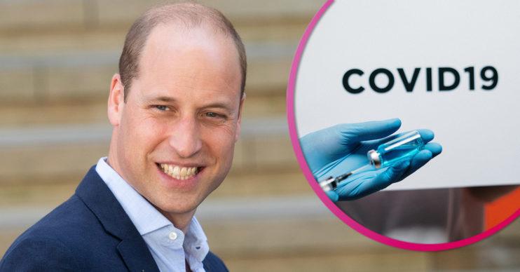 Prince William gets Covid vaccine