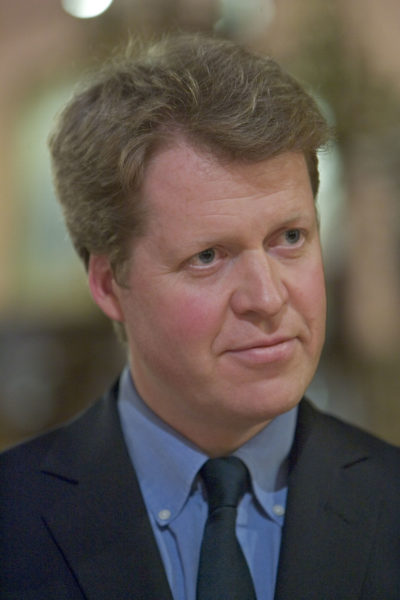 earl Spencer - brother of princess Diana - at an event