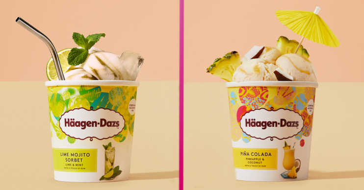asda ice cream: Haagen-Dazs cocktail range now in store