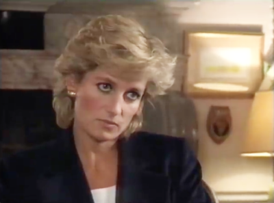 Prince William news: Diana during her panorama interview